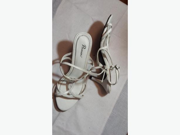 Shoes dress white ladies