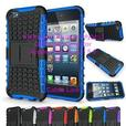 Heavy duty armor rugged kickstand case for IPod Touch 5 6
