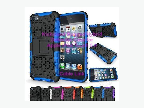 New Heavy duty armor rugged kickstand case for IPod Touch 5 6
