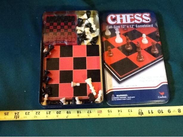 Chess and mini travel chess sets