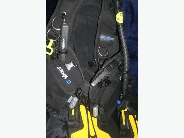 Complete diving outfit