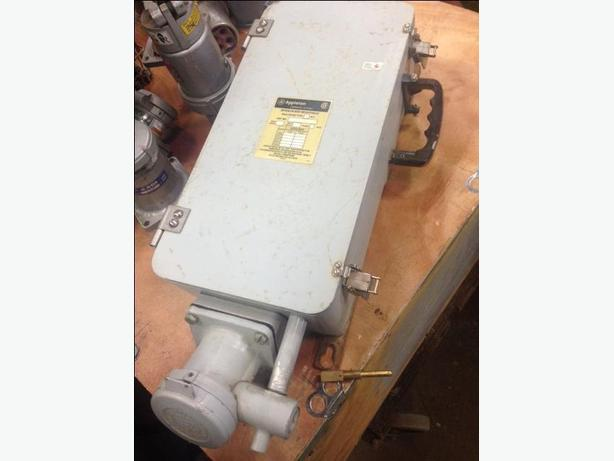 INTERLOCK SWITCHED RECEPTACLE 60 Amp Breaker