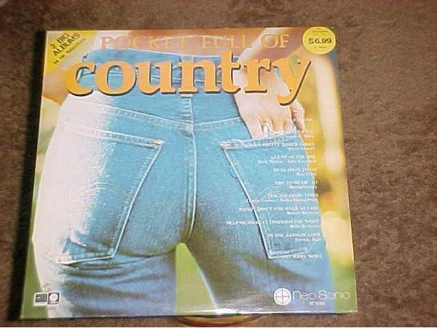 POCKET FULL OF COUNTRY VINYL LP