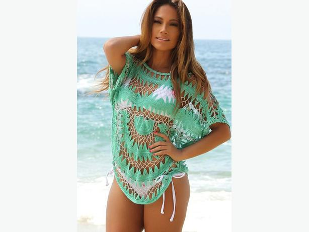 Crochet Beach Cover Up One Size