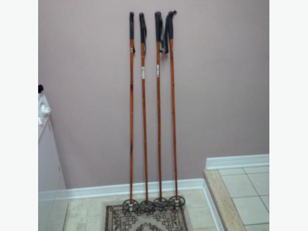 Two Sets of Ski Poles