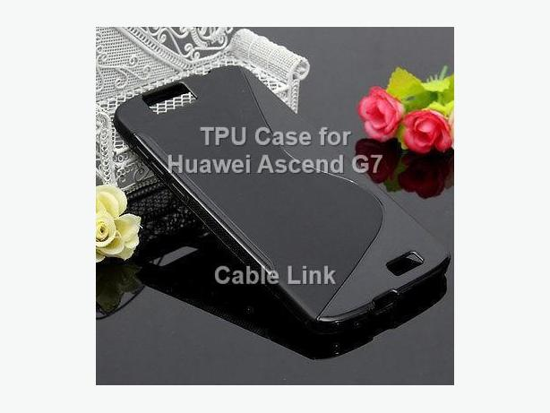 New TPU Case Cover for Huawei Ascend G7