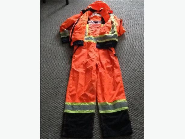 Dakota Hi-Visibility TMAX Coat and Bib Overalls