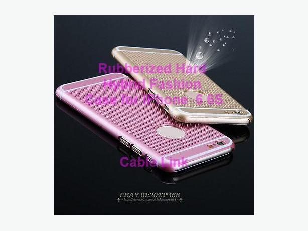 Rubberized Hybrid Fashion Case for IPhone 6 6S