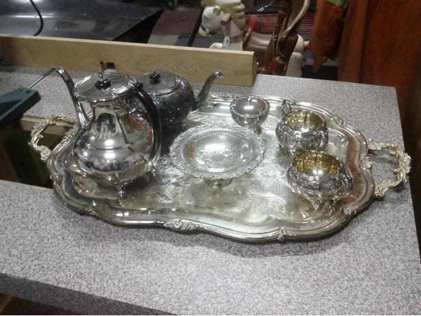 Silver Plate Tea Set