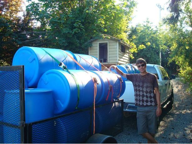 rain barrels, Lawns and gardens, water tight, compost, Dock flotation