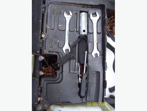 Arctic Cat ZR ZL Puma Jag Panther Powder foam toolbox tray tools