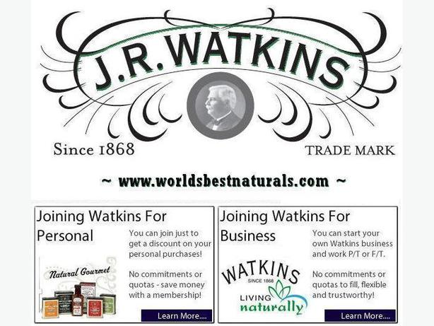 JR Watkins - Shop Online, Download a Catalog or become a Consultant!