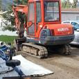 For Hire: mini excavator and dump trailer $70/hr