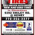 We got tires, Black n Round; Guaranteed.