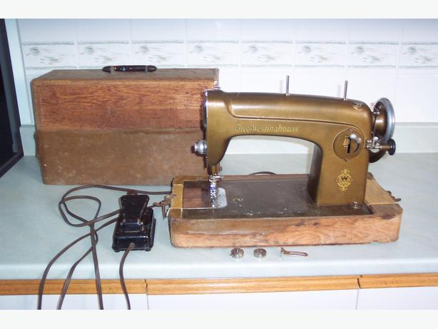 Free Westinghouse Sewing Machine with Cabinet Case 1172260-A ...