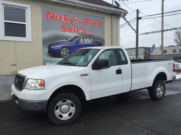 2004 ford f 150 xl 5 4 triton 4x4 long box gloucester gatineau. Black Bedroom Furniture Sets. Home Design Ideas