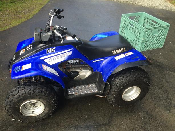 2002 yamaha 125cc quad atv malahat including shawnigan. Black Bedroom Furniture Sets. Home Design Ideas