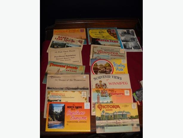 4U2C VINTAGE CANADIAN PACKS OF POST CARDS