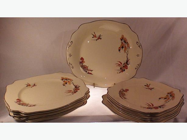 Staffordshire Wilkinson Spanish River plates