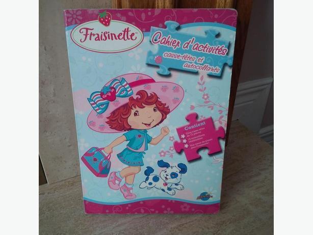Fraisinette Puzzle Book