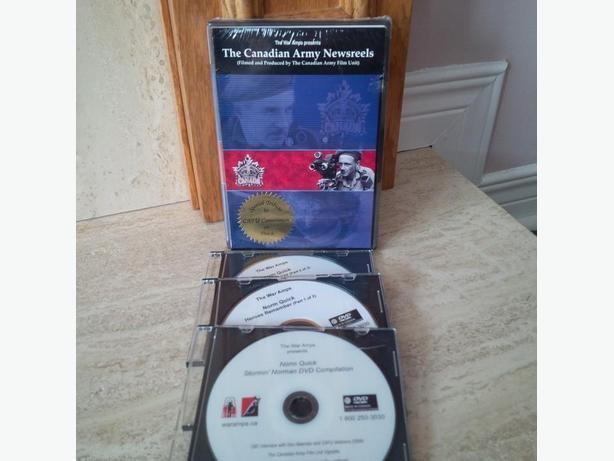 New Canadian Army Newsreels DVD Set