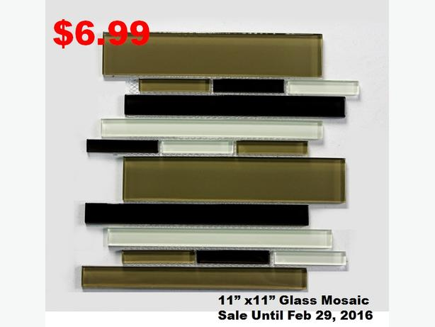 Bathroom & Kitchen Mosaics, Backsplash SALE