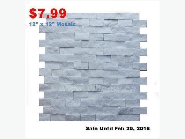 Bathroom & Kitchen Mosaics, Backsplash SALE
