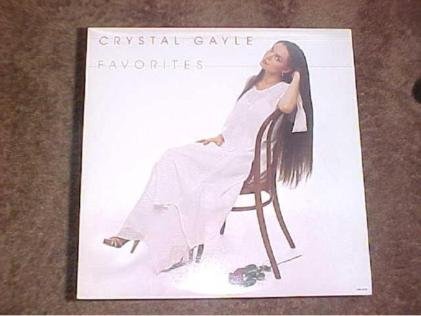 CRYSTAL GAYLE FAVORITES VINYL LP