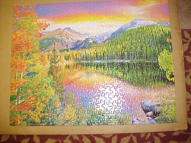 SPRINGBOK BEAR LAKE PUZZLE