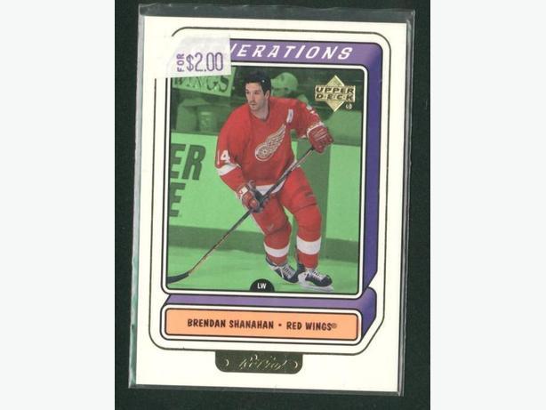 99/2000 Upper Deck Retro Generations Shanahan