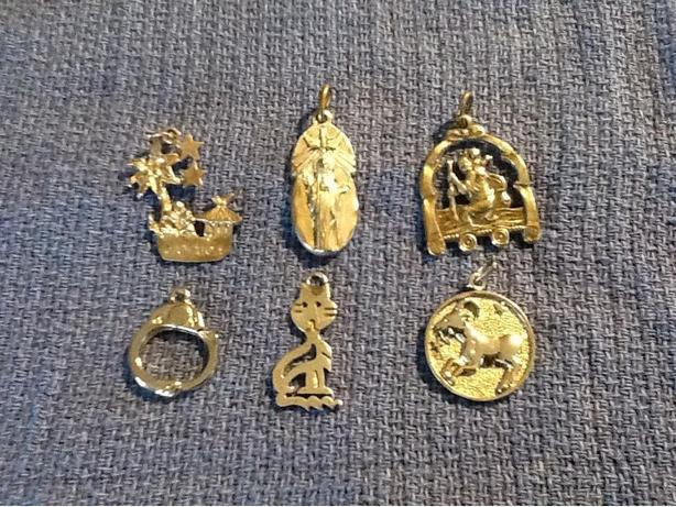 Silver Pendants or Charms