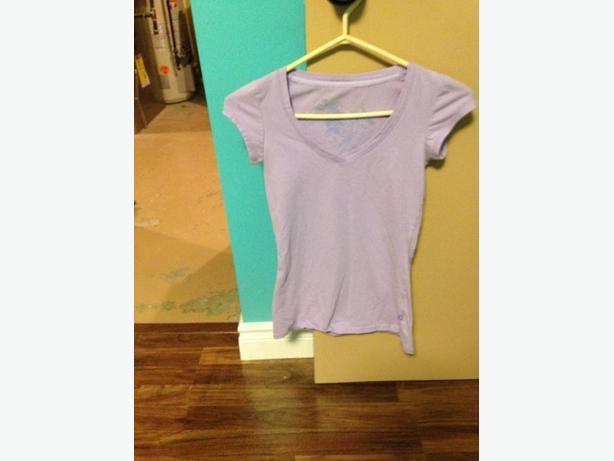 purple garage shirt