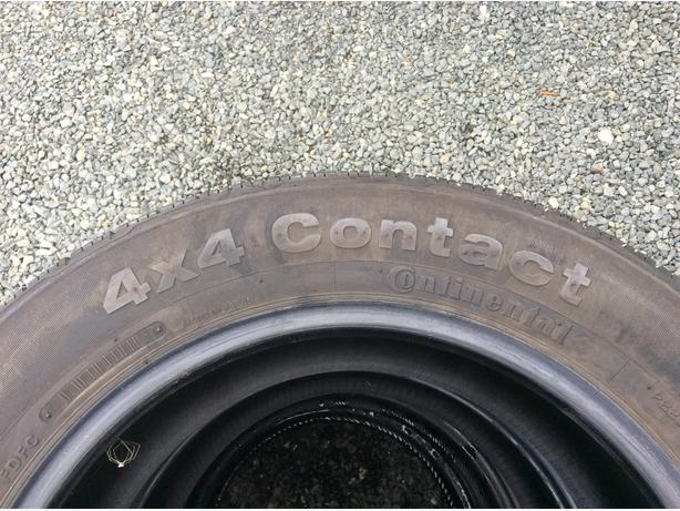 P225/60 R17 Set of 2 Continental Tires