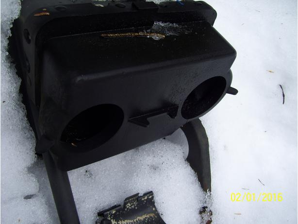Arctic Cat Wildcat 700 EFI air box silencer plenum