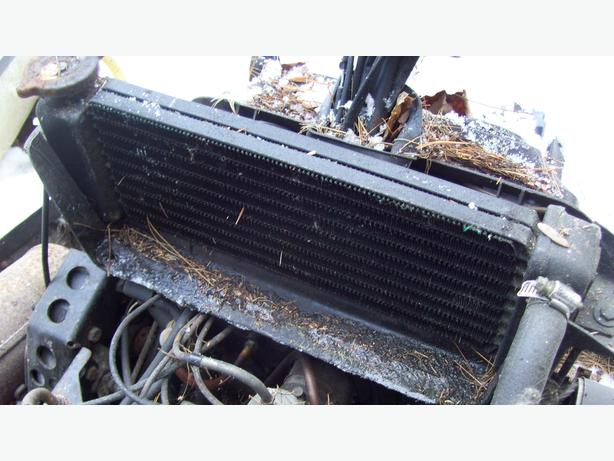 Arctic Cat Pantera El Tigre 5000 6000 rad radiator 81 ET 6000