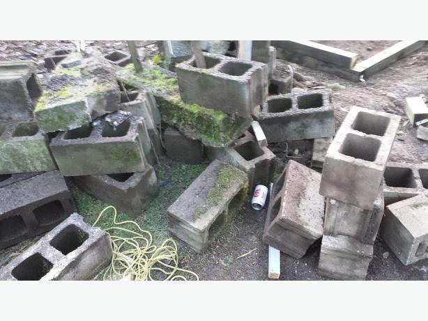 Free Cinder Blocks Cedar Nanaimo