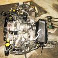 JDM EJ20 TURBO DOHC 2.0L IMPREZA GC8 WRX 92-96 ENGINE TRANSMISSION AT TZ102YB3AA
