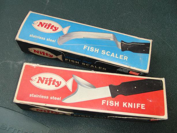 Fish Knife and Scaler