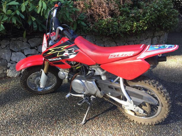 2000 Honda 50cc dirt bike Saanich, Victoria