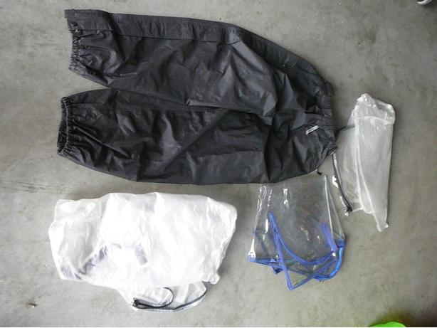 Golf Rain Pants and Bag Cover