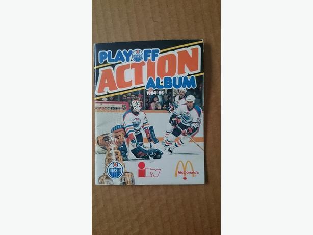 1984/85 McDonald's - iTV - Edmonton Oilers Playoff Action Album