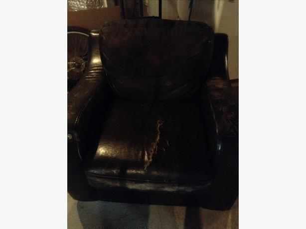 FREE: big brown chair