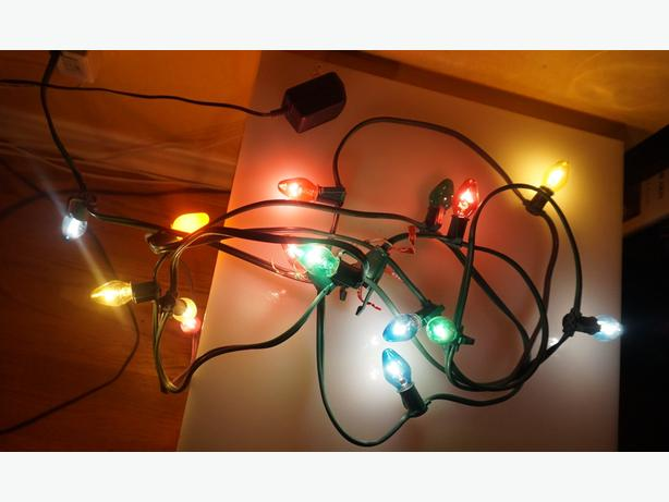 4u2c XMAS LIGHTS WITH BULBS