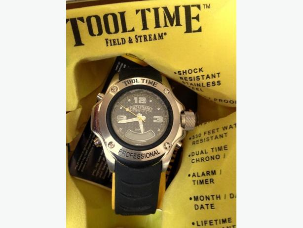 TOOL TIME MENS WATCH BY FIELD & STREAM