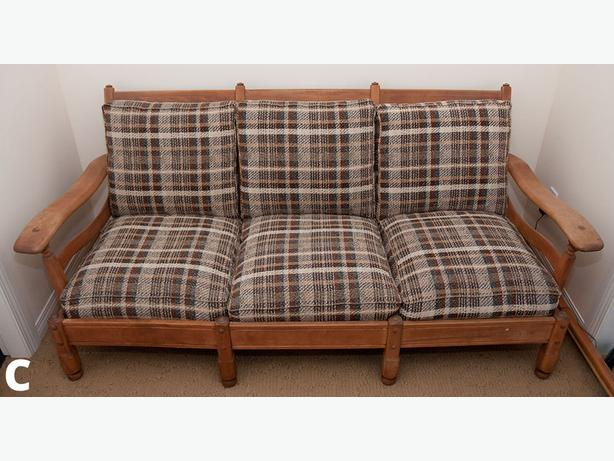 Vintage Maple Couch