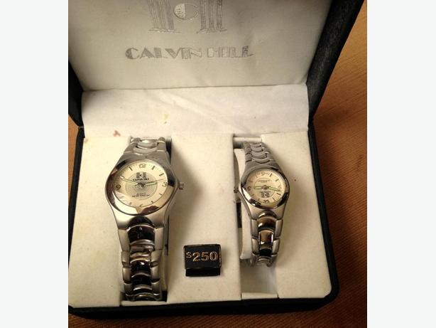 CALVIN HILL HIS & HERS WATCHES