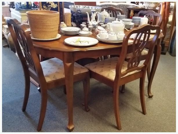 Knechtel Quality Walnut Dining Table Only At Right Price Decor