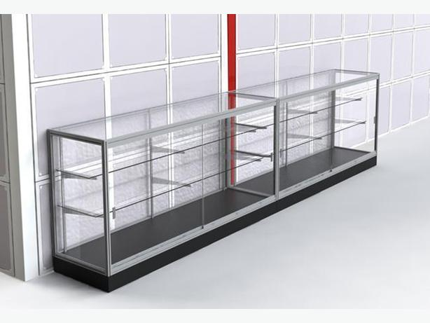 WANTED: metal and glass retail display case