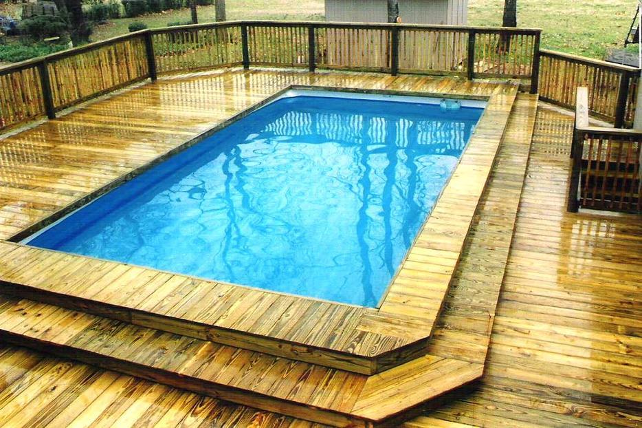 Coleman 22ft Rectangular Pool Outside Nanaimo Nanaimo