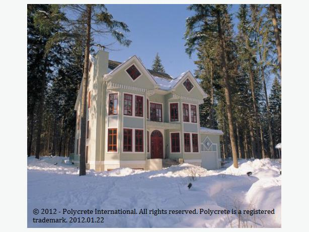 Do You Want a Warm Concrete House?